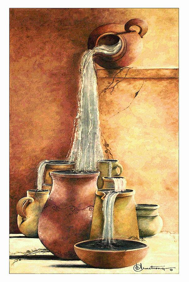 The Living Water Painting  - The Living Water Fine Art Print