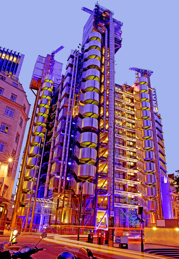 The Lloyds Building City Of London Photograph  - The Lloyds Building City Of London Fine Art Print
