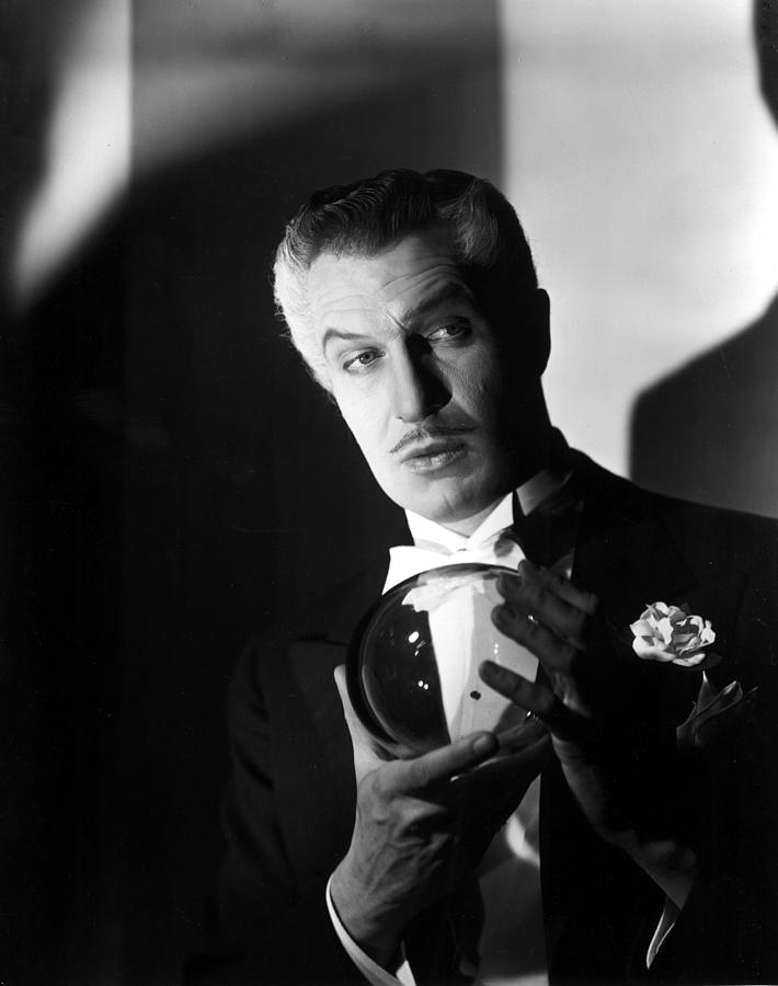The Long Night, Vincent Price, 1947 Photograph  - The Long Night, Vincent Price, 1947 Fine Art Print