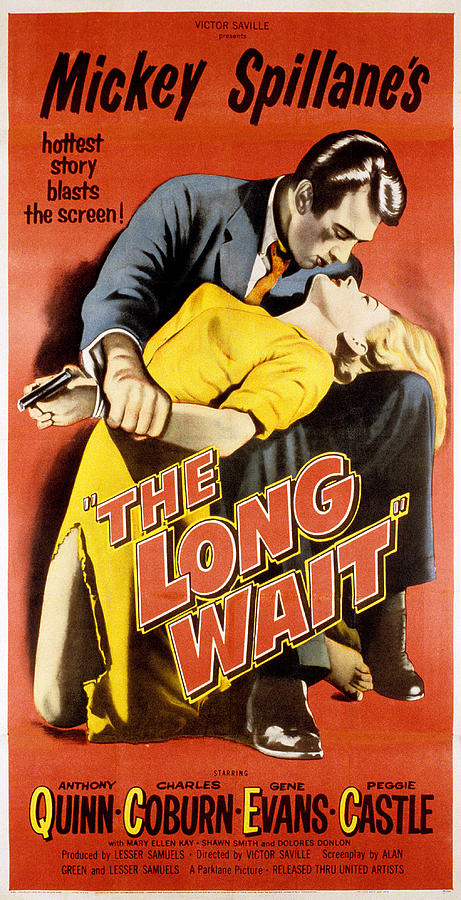 The Long Wait, Anthony Quinn, Peggie Photograph
