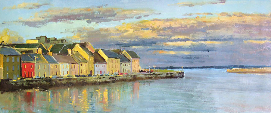 The Long Walk Galway Painting