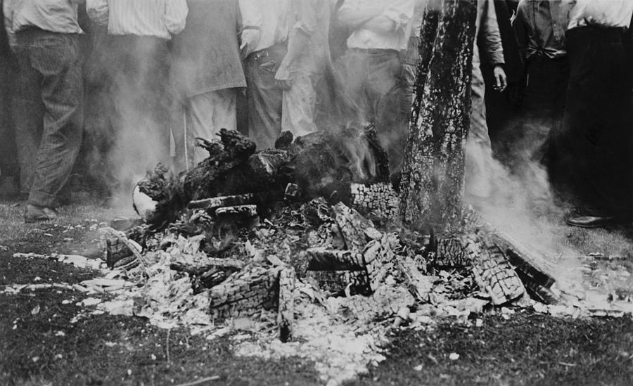 The Lynching Of Jesse Washington Photograph