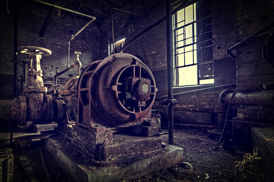 The Machine Photograph  - The Machine Fine Art Print