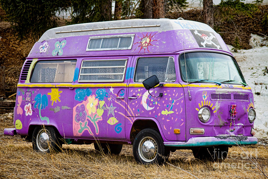 The Magic Bus Photograph  - The Magic Bus Fine Art Print