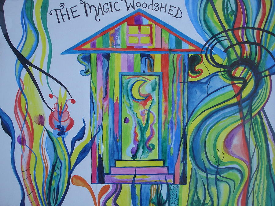 The Magic Woodshed Painting