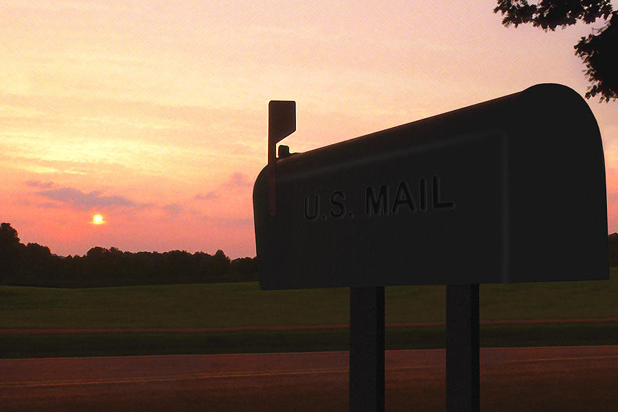 The Mail Of Old Photograph - The Mail Of Old by Mike McGlothlen