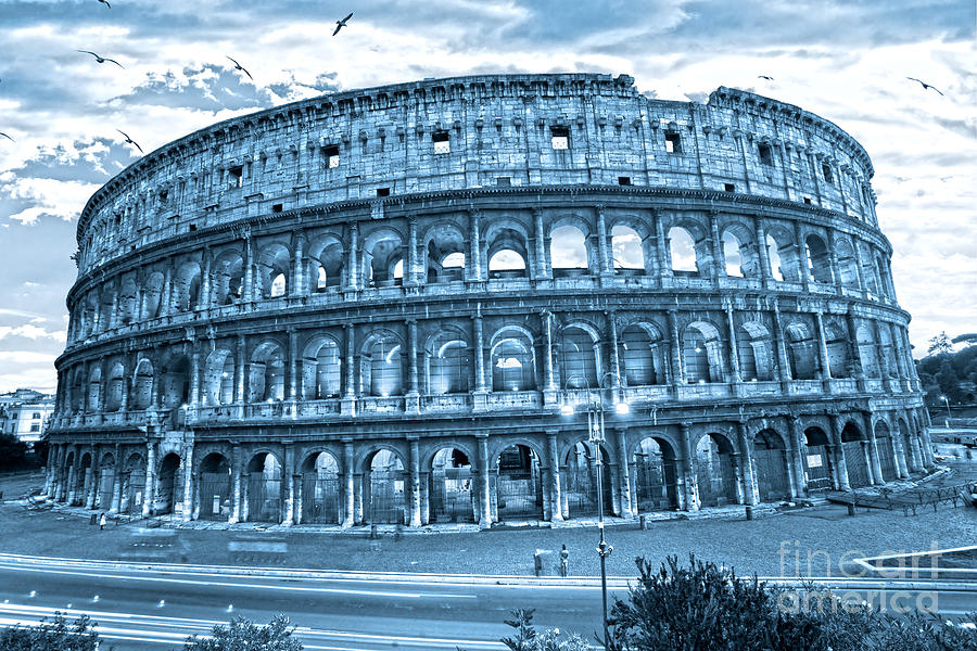 The Majestic Coliseum Photograph
