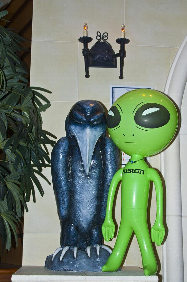 The Maltese Alien Photograph