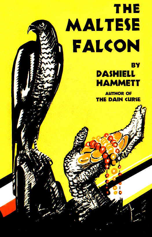 an analysis of the different changes made in the plot of the novel maltese falcon by dashiell hammet