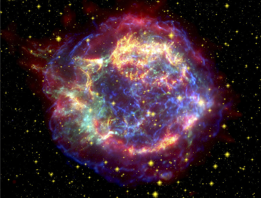 The Many Sides Of The Supernova Remnant Photograph
