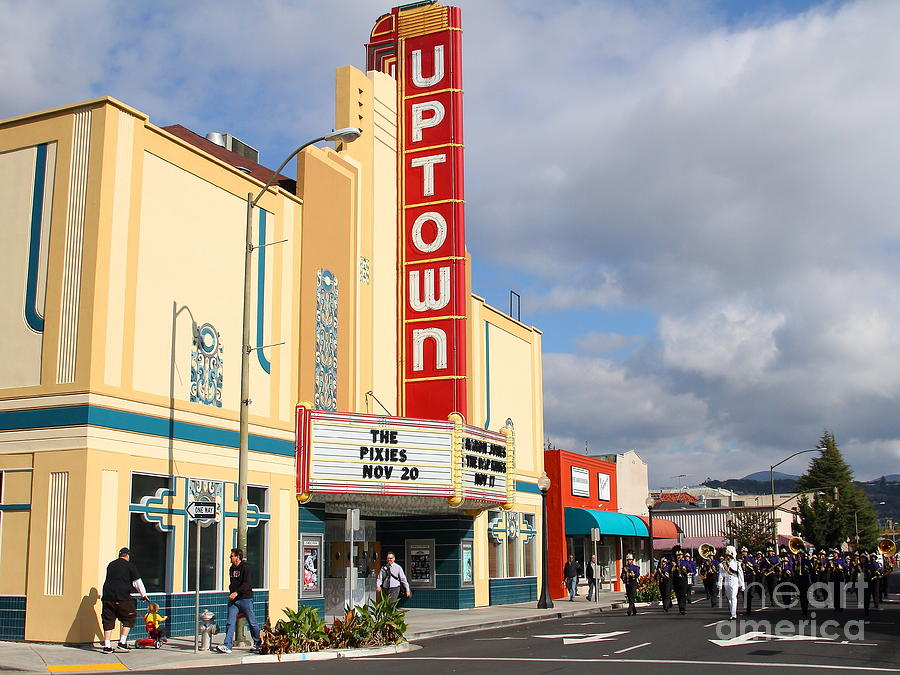 The Marching Band At The Uptown Theater In Napa California . 7d8922 Photograph