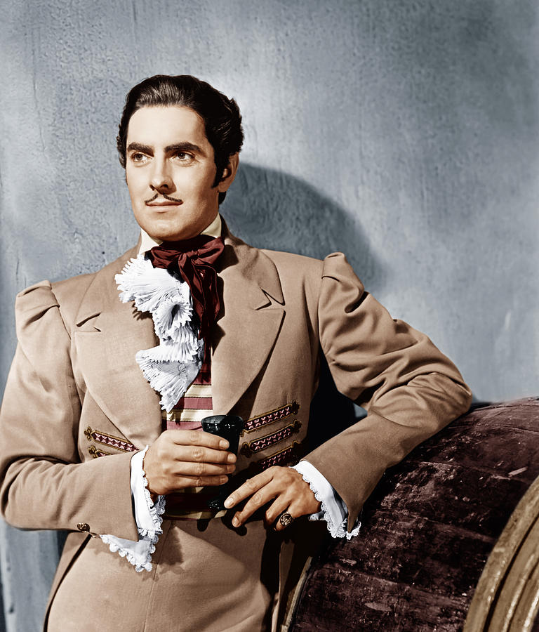 The Mark Of Zorro, Tyrone Power, 1940 Photograph