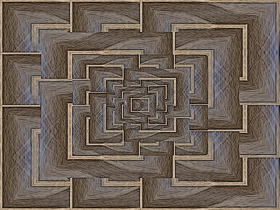 The Maze Within Digital Art