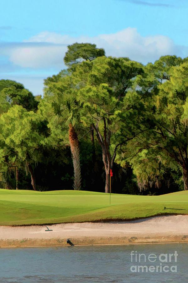 The Meadows Golf Club 12th Photograph
