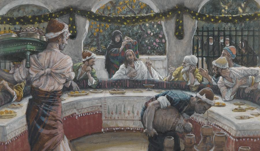 The Meal In The House Of The Pharisee Painting