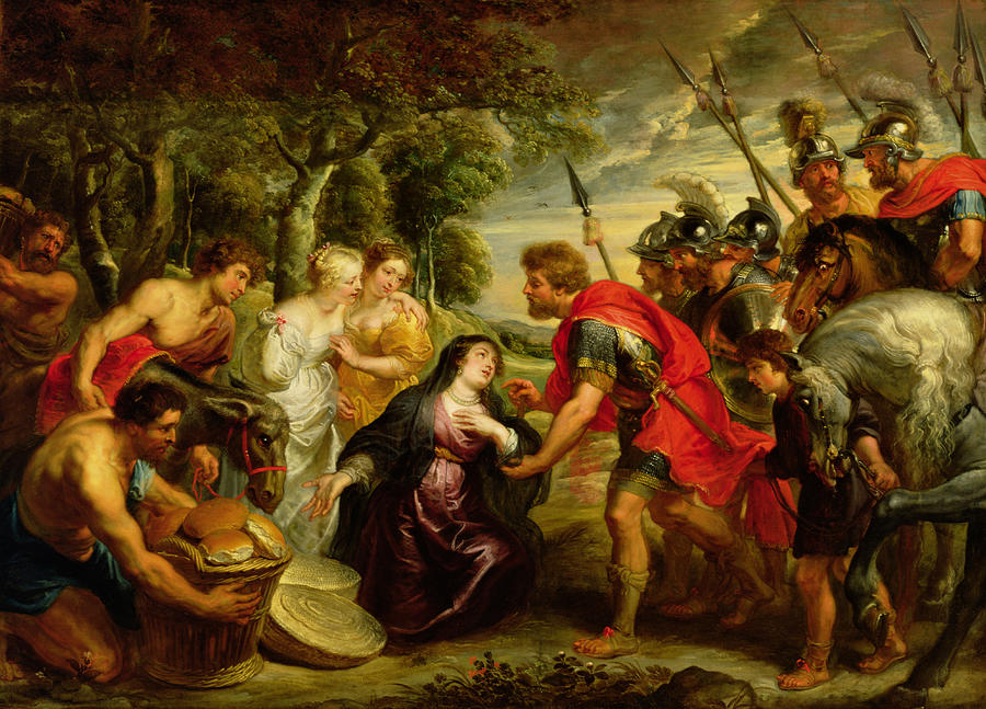 The Meeting Of David And Abigail Photograph