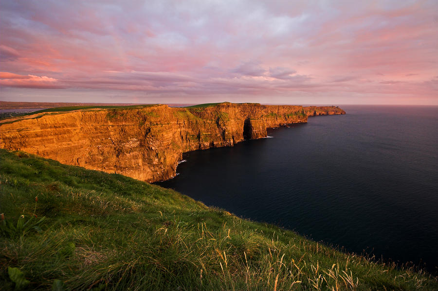 The Mighty Cliffs Of Moher In Ireland Photograph