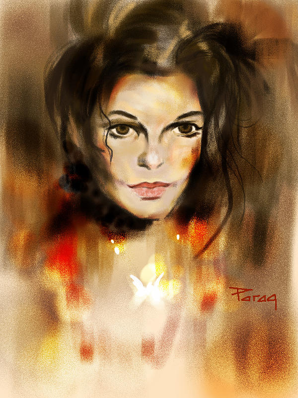 The Mj Look Painting