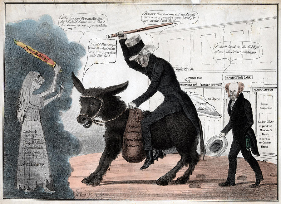 1830s Photograph - The Modern Balaam And His Ass, Showing by Everett