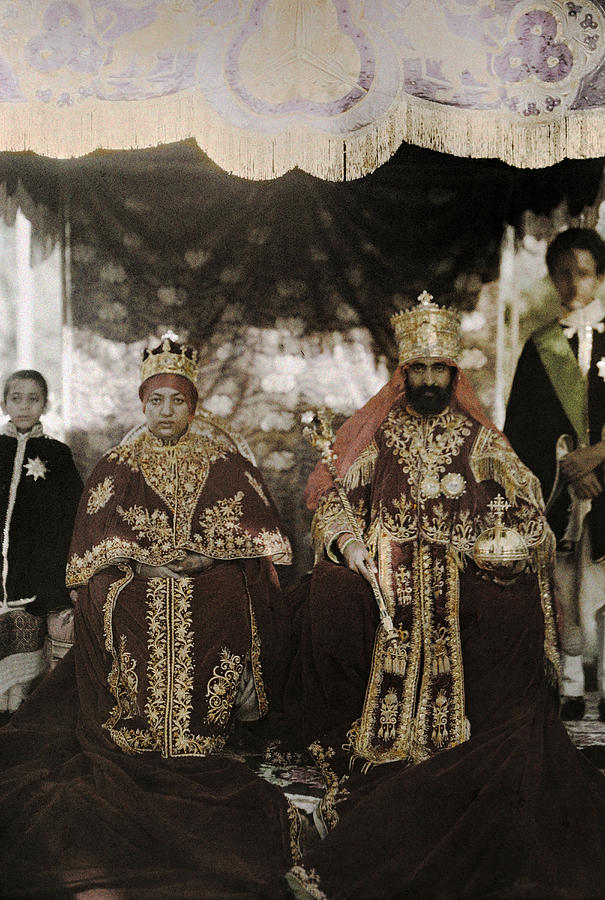 The Monarchs Haile Selassie The First Photograph  - The Monarchs Haile Selassie The First Fine Art Print