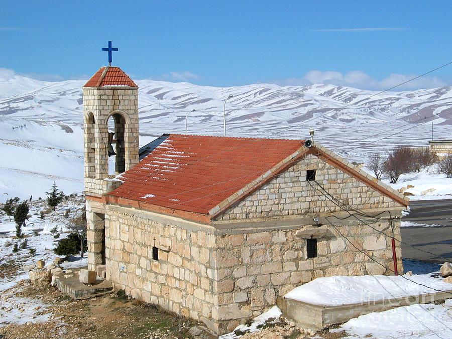 Monastery Photograph - The Monastery Of Sheirobeem by Issam Hajjar