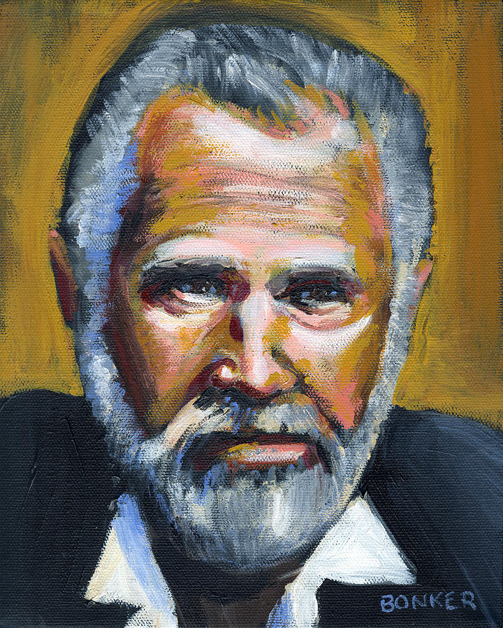 The Most Interesting Man In The World Painting