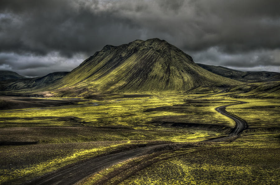Mountain Photograph - The Mountain Pass by Evelina Kremsdorf