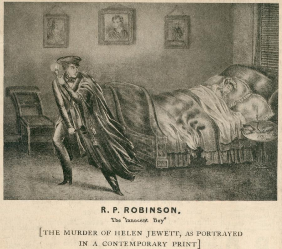 The Murder Of Helen Jewett In 1836 Photograph