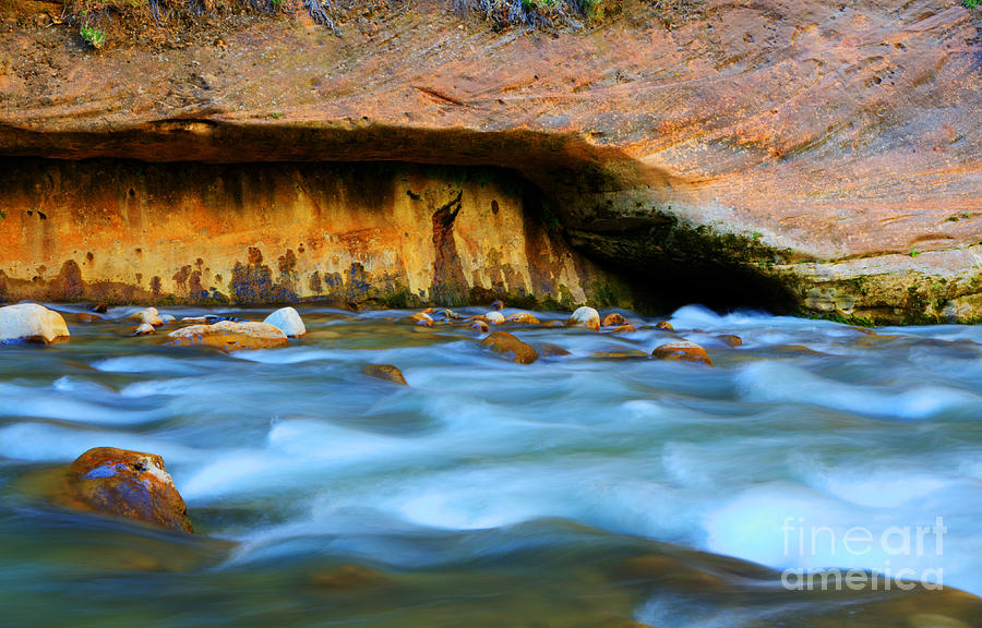 The Narrows Virgin River Photograph  - The Narrows Virgin River Fine Art Print
