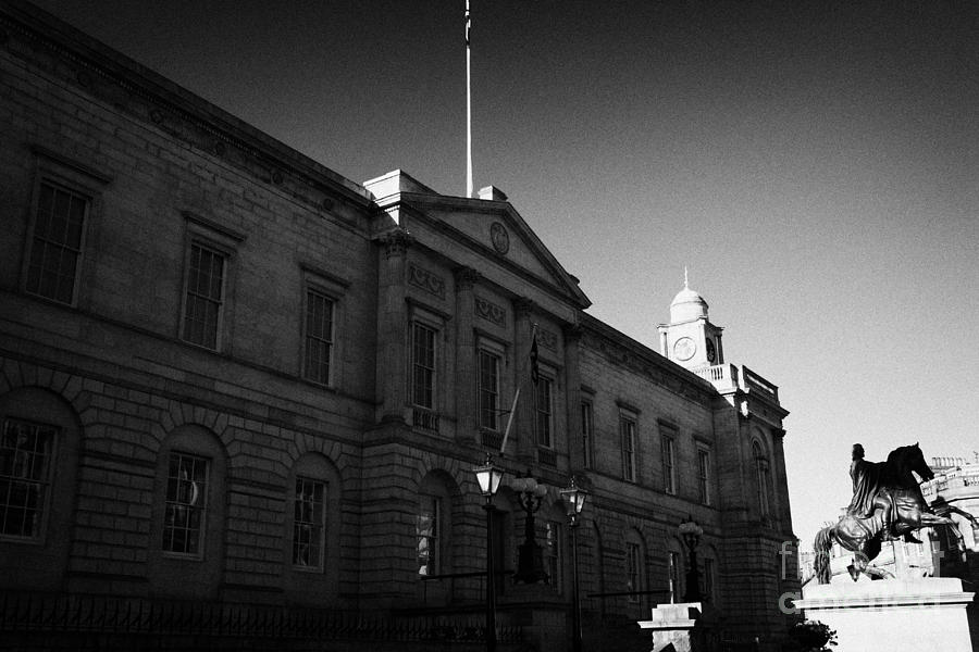 National Photograph - The National Archives Of Scotland General Register House Edinburgh Scotland Uk United Kingdom by Joe Fox