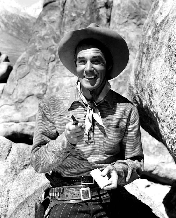 The Nevadan, Randolph Scott, 1950 Photograph