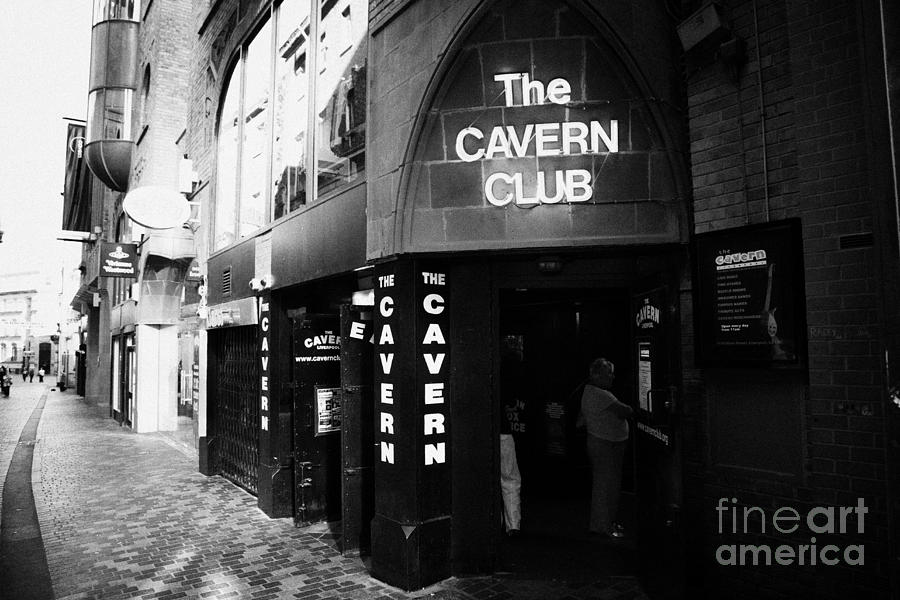 The New Cavern Club In Mathew Street In Liverpool City Centre Birthplace Of The Beatles Merseyside Photograph