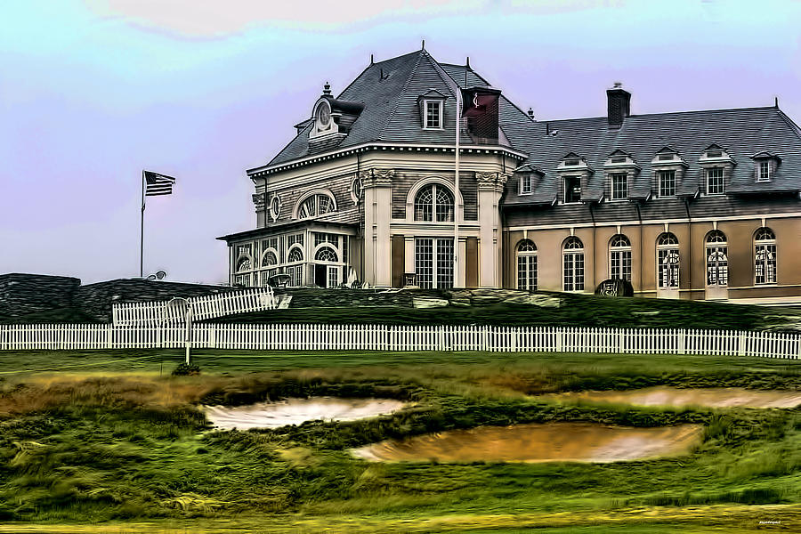 The Newport Country Club Photograph  - The Newport Country Club Fine Art Print