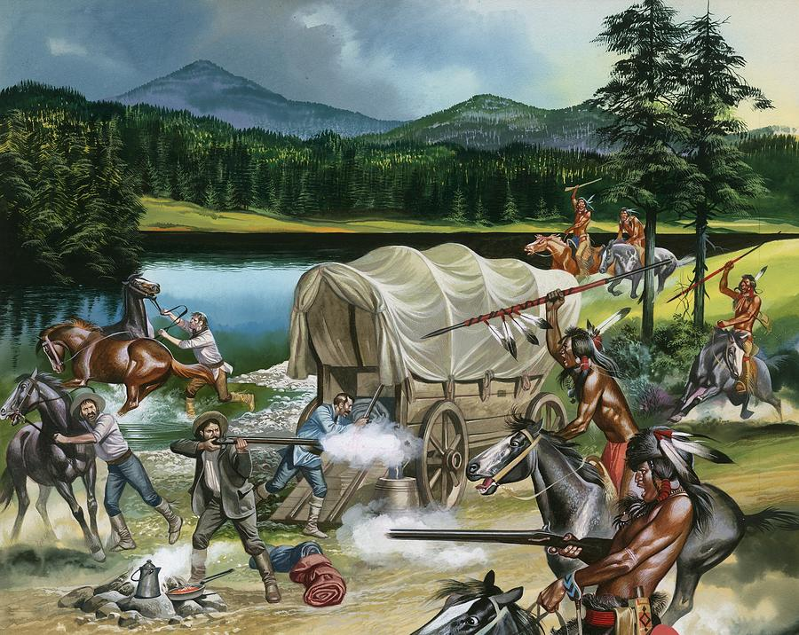 The Nez Perce Painting