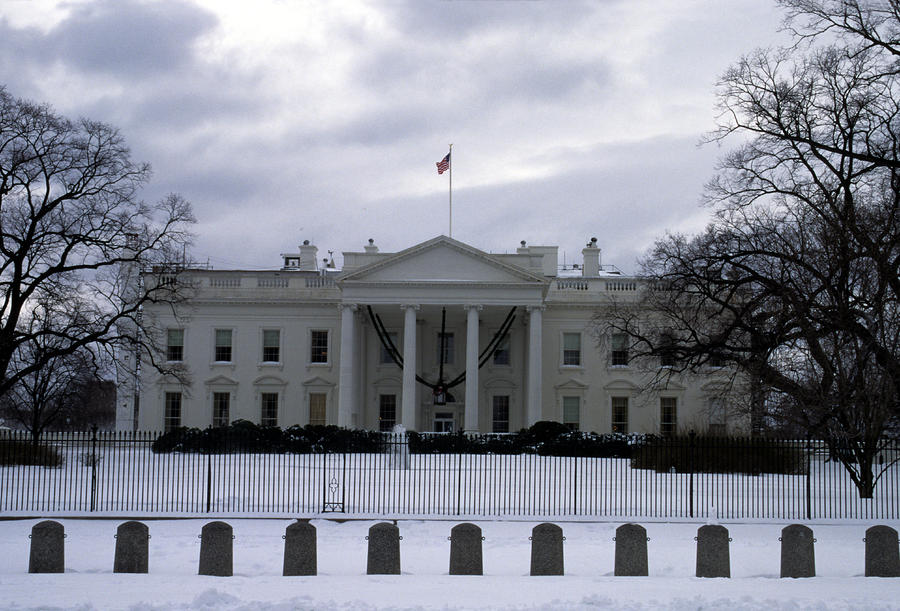 The North View Of The White House Photograph