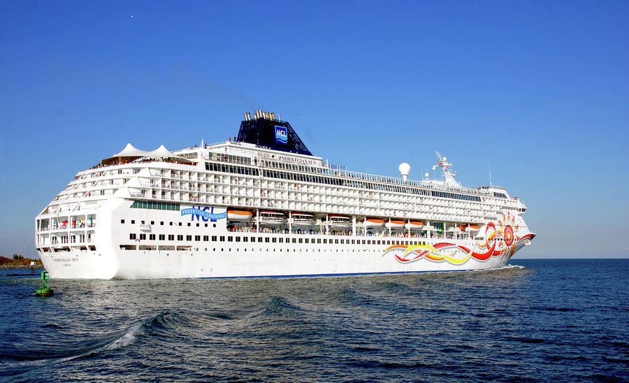 The Norwegian Sun Is Leaving Photograph