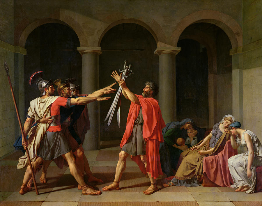 The Oath Of Horatii Painting