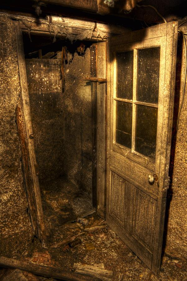 The Old Cellar Door Photograph - The Old Cellar Door Fine Art Print