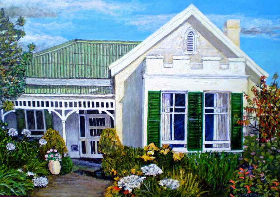 The Old Farm House Painting