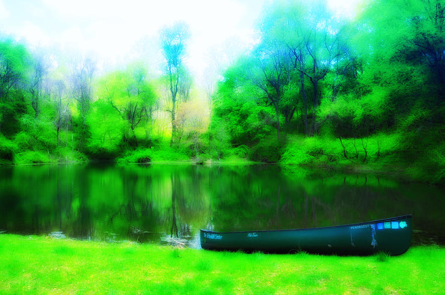 The Old Fishin Hole Photograph  - The Old Fishin Hole Fine Art Print