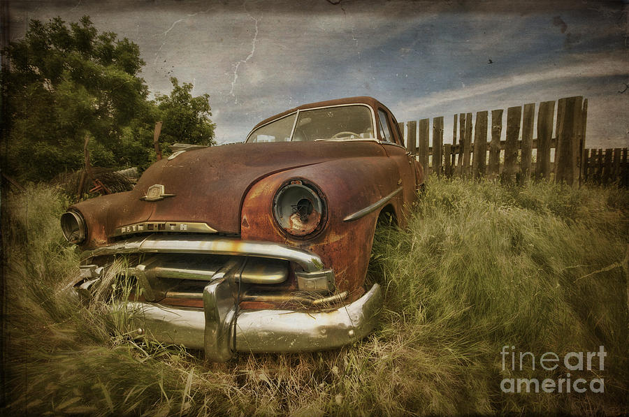 The Old Plymouth Photograph  - The Old Plymouth Fine Art Print