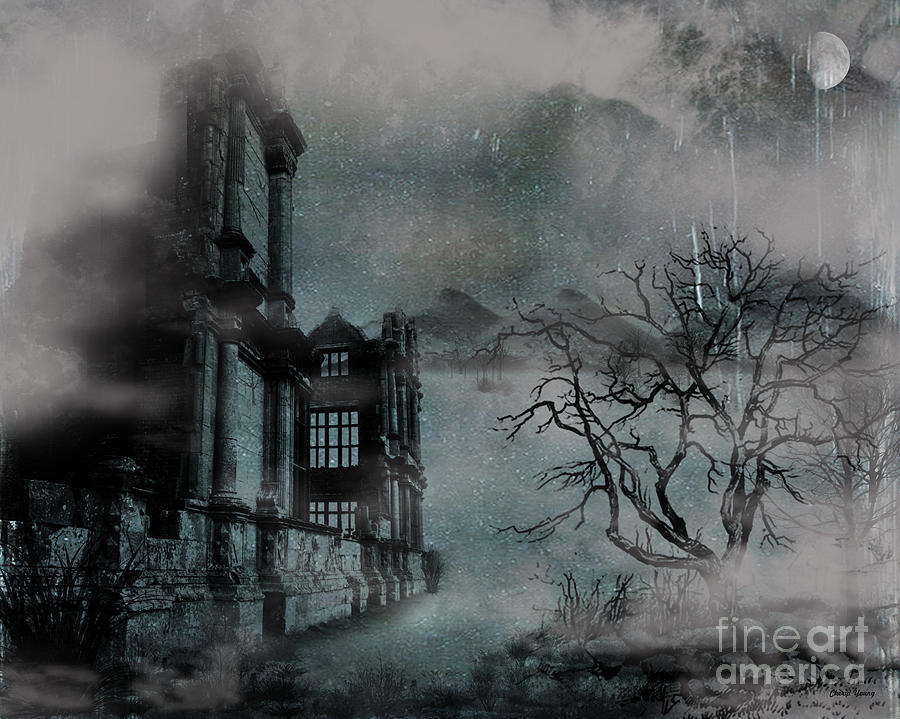 The Old Ruins Photograph  - The Old Ruins Fine Art Print