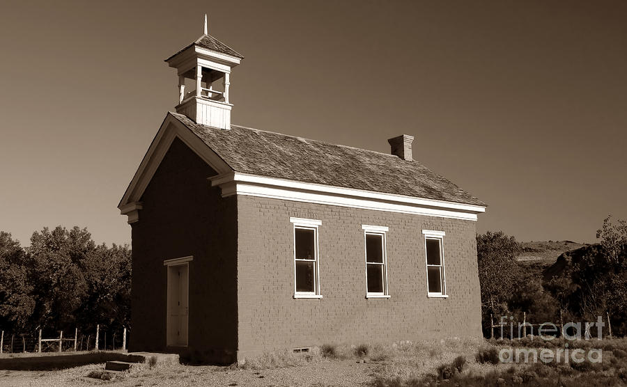 The Old Schoolhouse Photograph