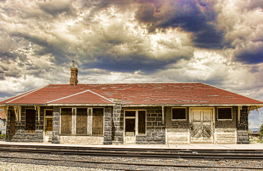 The Old Train Stop Photograph  - The Old Train Stop Fine Art Print