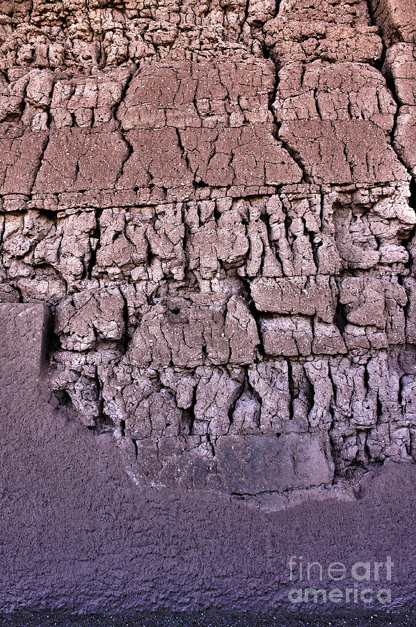 Arizona Photograph - The Old Wall by Adam Smith