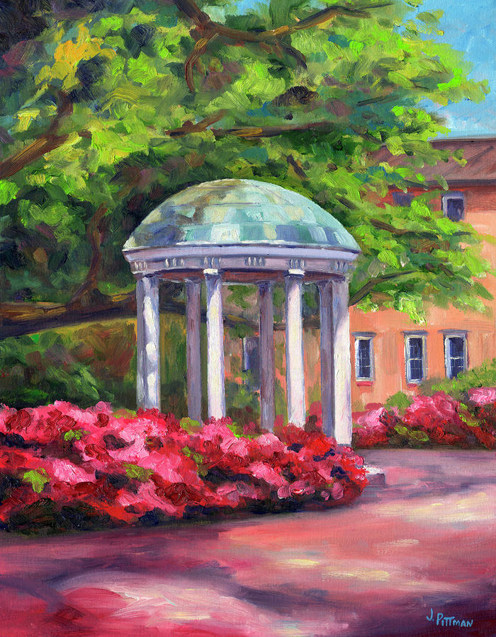 The Old Well Unc Painting  - The Old Well Unc Fine Art Print