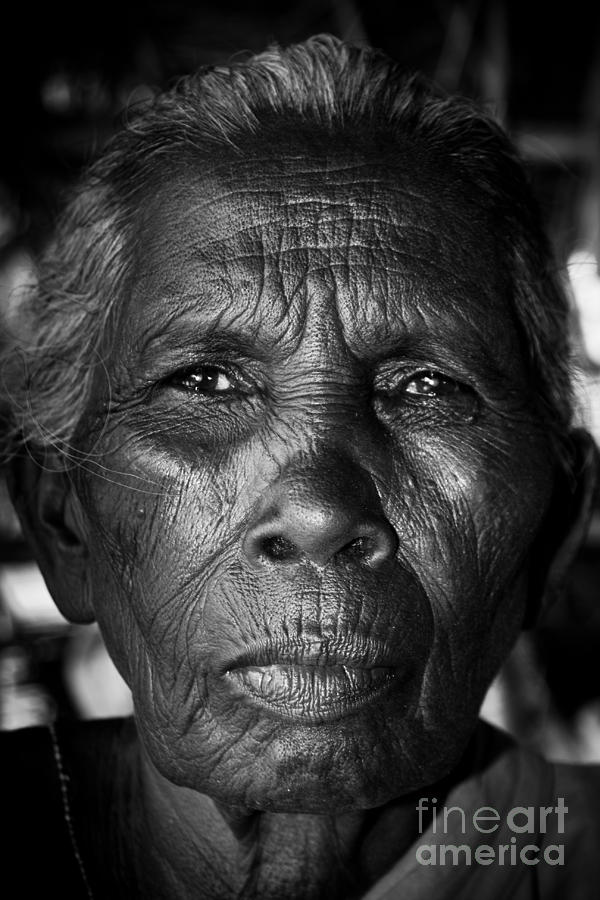 The Old Woman Photograph  - The Old Woman Fine Art Print