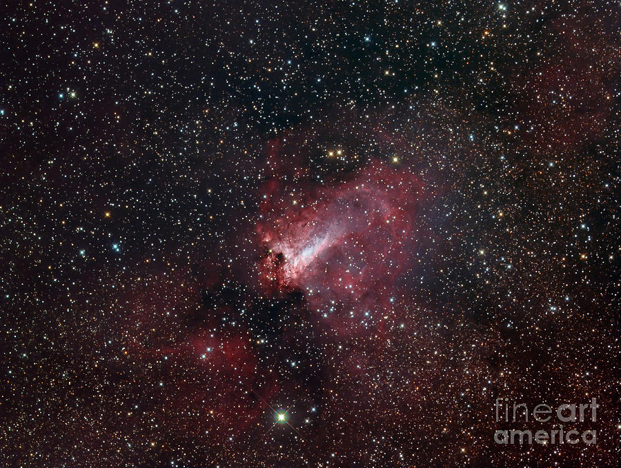 The Omega Nebula Photograph