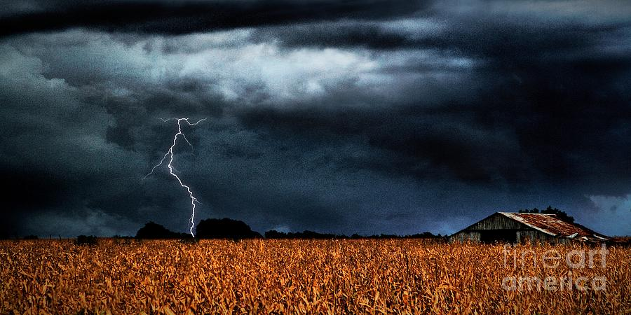 The Oncoming Storm Photograph  - The Oncoming Storm Fine Art Print