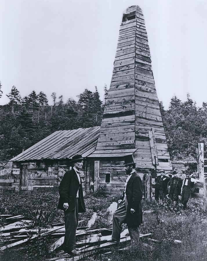 The Original 1859 Drake Oil Well Photograph